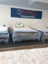 Memorial Day Queen Pillowtop Mattress Set Brand New in Lockport, Illinois