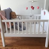 Bitty Baby doll and crib with mobile in Elgin, Illinois