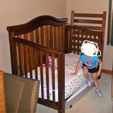4-in-1 Crib/Toddler/Day/Full Size Bed in Chicago, Illinois