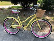 Woman's Beach Cruiser With Basket in Beaufort, South Carolina