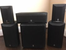 Set of Yamaha Speakers in Tomball, Texas
