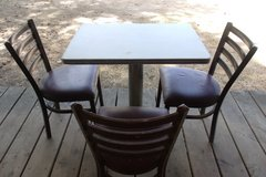 Vintage Cafe Table and Chairs in Alamogordo, New Mexico