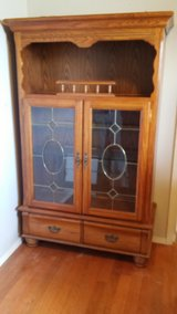 Oak China Cabinet in Fort Irwin, California
