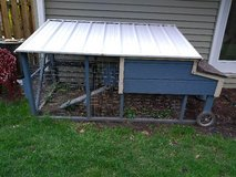 Chicken Tractor (Movable Chicken Coop) in Great Lakes, Illinois