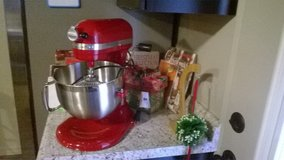 Kitchen Aid Red Mixer New - with Box in Phoenix, Arizona