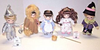 Ashton Drake Precious Moments Wizard Of Oz Porcelain Dolls in Kingwood, Texas