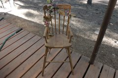 Vintage Wooden High Chair in Alamogordo, New Mexico