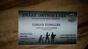 Snake Drywall llc in Warner Robins, Georgia