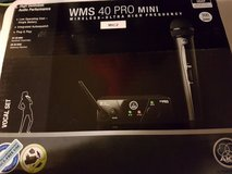 WMS 40 Pro Mini Wireless Mic Vocal Set (1) in Spangdahlem, Germany