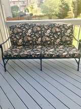 65 inch iron outdoor couch in Lockport, Illinois