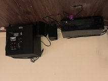 Surround sound with 5 speakers and amp in Fort Polk, Louisiana