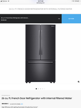 Samsung Black Stainless Refrigerator in Spring, Texas