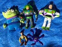 Toy Story toy bundle *damaged* spares? in Lakenheath, UK