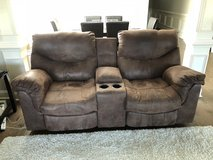 Ashley furniture reclining sofa and loveseat in Fort Rucker, Alabama