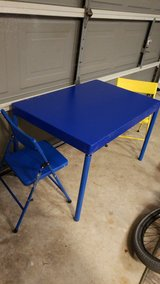 child size table with 6 chairs in Kingwood, Texas