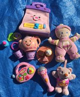 Baby/toddler girls toy bundle - pink in Lakenheath, UK