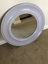 Round,Gray Wall Mirror in Beaufort, South Carolina