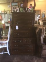 Antique true chest on chest dresser in Kingwood, Texas