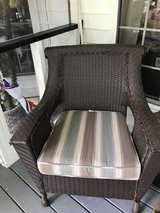 Large wicker chair in Perry, Georgia