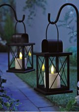 2  Lanterns with Solar LED Candles in Ramstein, Germany
