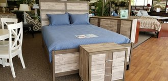 30% OFF THIS 7PC QUEEN BEDROOM GROUP in Cherry Point, North Carolina