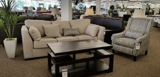 20% OFF 2PC SOFA AND CHAIR SET in Cherry Point, North Carolina