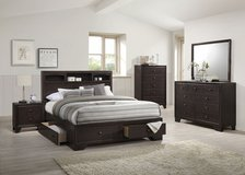 QUEEN STORAGE BED FREE DELIVERY in Huntington Beach, California