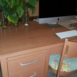 vintage inspired desk and chair in Quantico, Virginia