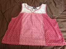 Ransom XL sheer red with lace tank top very pretty in Manhattan, Kansas