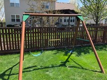 swing set in Bolingbrook, Illinois