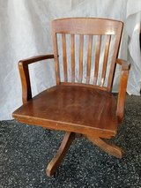 Bankers Chair, Lawyers Chair Antique Vintage in Camp Pendleton, California