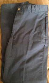 Boys size 16 navy blue dress pants George brand in Fort Riley, Kansas