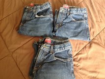 4 pairs of denim jeans shorts boys size 14 Arizona Jeans Co in Fort Riley, Kansas