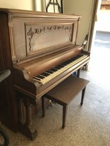 Upright Piano(w/ bench)-FREE in St. Charles, Illinois
