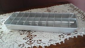 Vintage aluminum ice cube tray in Glendale Heights, Illinois