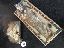 """Vintage Franklin Mint Limited Edition """"The Treasures of Tutankhamun"""" Card Box and Pen Set in Baytown, Texas"""