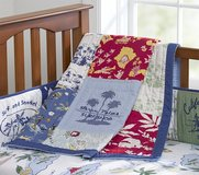 Pottery Barn Island Patchwork Bumper and Quilt in Fort Belvoir, Virginia