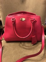 Coach purse hot pink in Clarksville, Tennessee