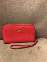 Coach wallet red in Fort Campbell, Kentucky