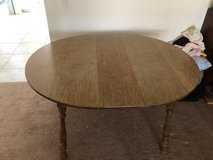 Oval/Round table w/leaf in Yucca Valley, California