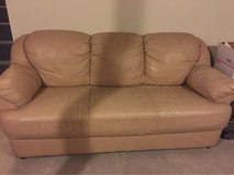 Leather 3 seat sofa Great Deal !!! in Morris, Illinois