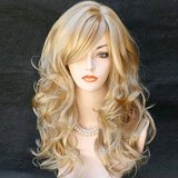 Long Wavy Natrual Blonde 60 Cm Synthetic Hair Wigs in Nellis AFB, Nevada