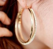 Big Hoop Earring For Women  Fashion Big Round Hoop in Nellis AFB, Nevada