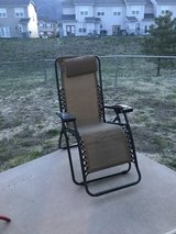 Outdoor chair in Colorado Springs, Colorado