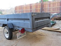 """4' x 8' Licensed Utility Trailer with 18"""" sides in 29 Palms, California"""