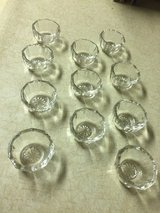 "Salt CELLAR  1 3/4"" DIA  (set of 11) - GLASS OPEN SMALL in Fort Leonard Wood, Missouri"