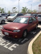 1997 Hyundai Accent in Camp Humphreys, South Korea