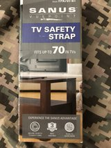 "TV safety straps until 70 "".never used .new in Ramstein, Germany"