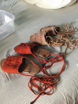 Women's sandals with ankle straps in New Lenox, Illinois
