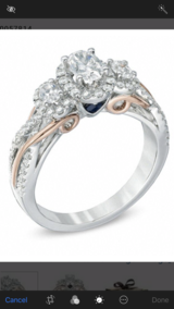 Vara Wang Engagement Ring in San Clemente, California